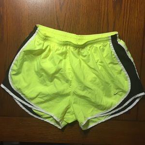 Nike Dri-fit running athletic shorts size Large